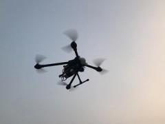 鹿寨:无人机巡查不文明行为,加快文明城市形成