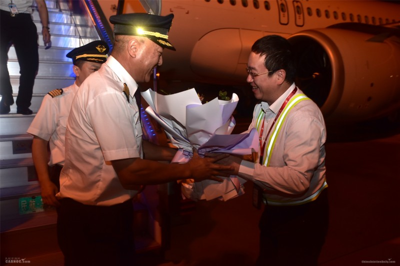 东航江苏公司今年迎来首架飞机 总运力达68架