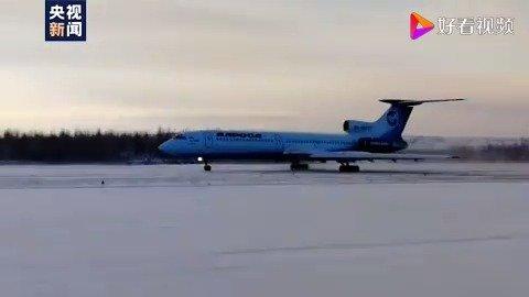 传奇客机图-154正式从俄罗斯退役