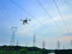 建三江电业开展无人机智慧巡线,保障区域用电安全